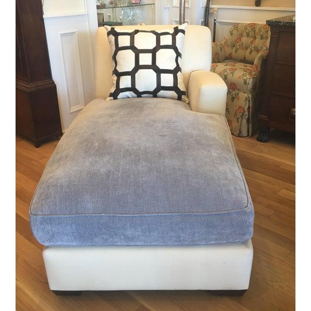 Christian Liaigne for Holly Hunt Nabob Chaise Lounge - Leonard Nemoy Estate - Image 3 of 6