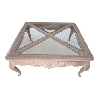 Pennsylvania House Square French Style Coffee Table
