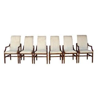 Henredon White Dining Chairs - Set of 6