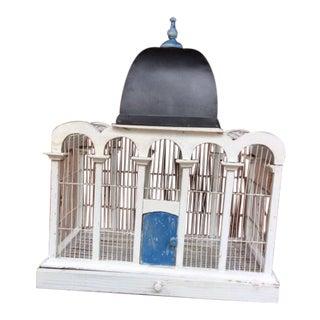 1930's Handmade Metal Birdcage