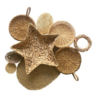 Wall Hanging Basket - Set of 9