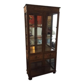 Faux Bamboo Small Breakfront