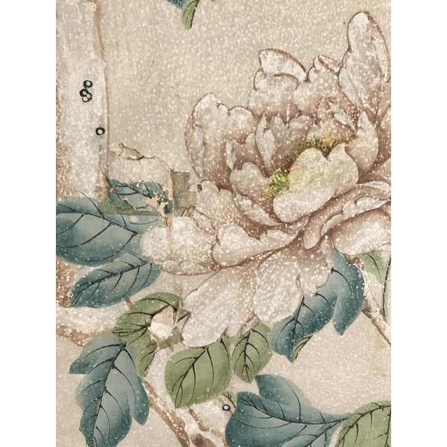 Gracie Chinoiserie 4 Panel Wallpaper Screen - Image 8 of 11