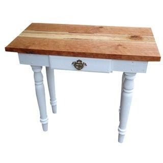 Single Drawer Red Cedar Top Table