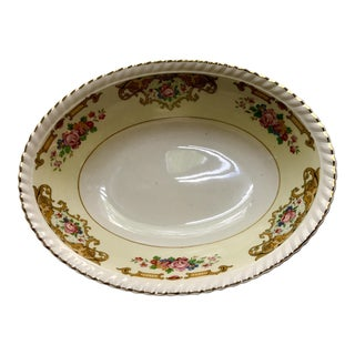 Antique Johnson Brothers Old English Oval China Serving Bowl