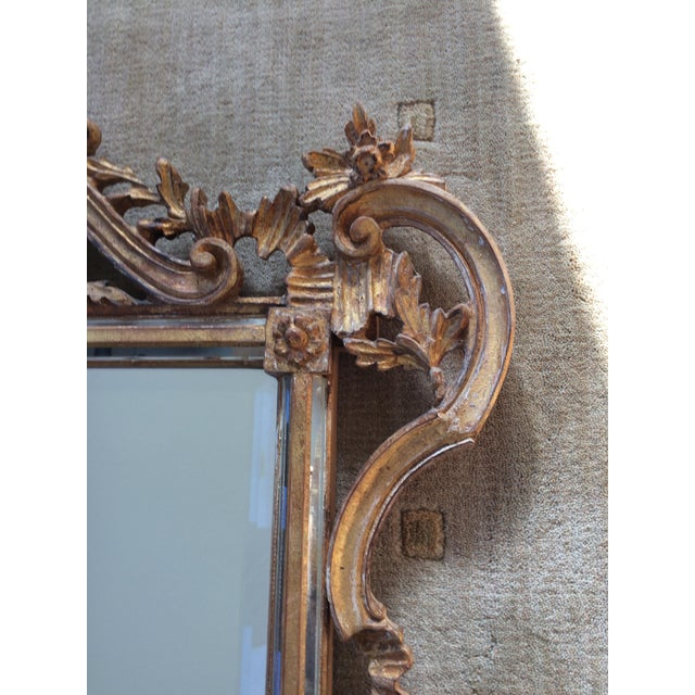 Image of LaBarge Ornate Italian Giltwood Mirror