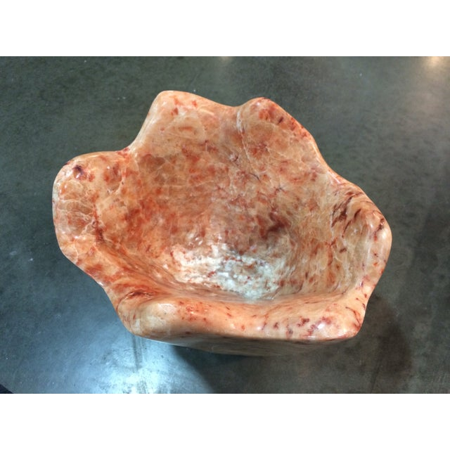 Italian Marble Head Cheese Natural Vase - Image 4 of 6