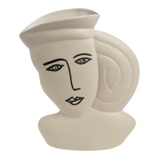 """A Picasso Woman"" Vase"