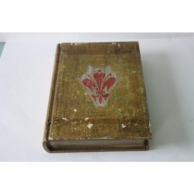 Florentine Fleur De Lis Book Box - Image 3 of 8