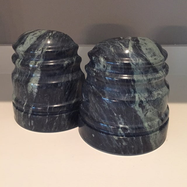 Vintage Marble Book Ends - A Pair - Image 3 of 8