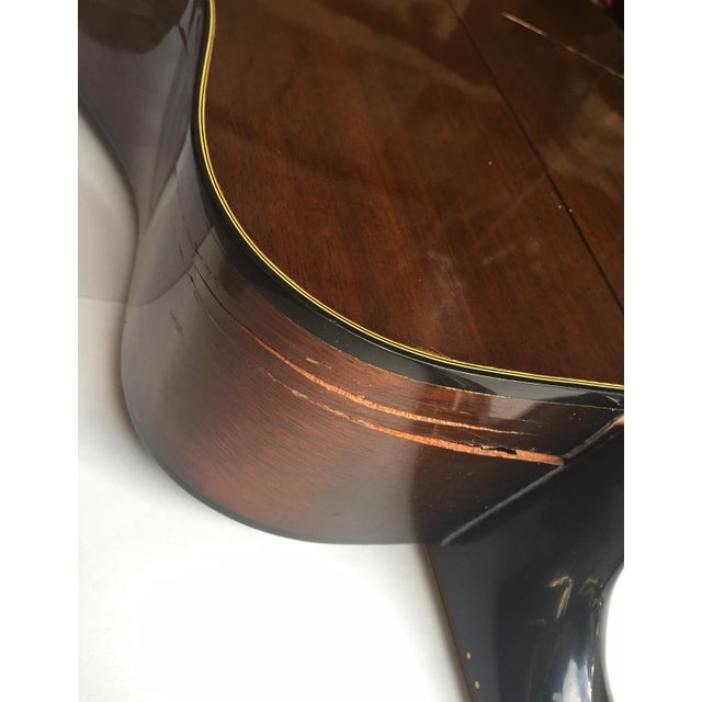Vintage 1960s Gibson Acoustic Guitar - Image 10 of 10