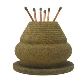 Rustic Pottery Match Striker / Pyrogene