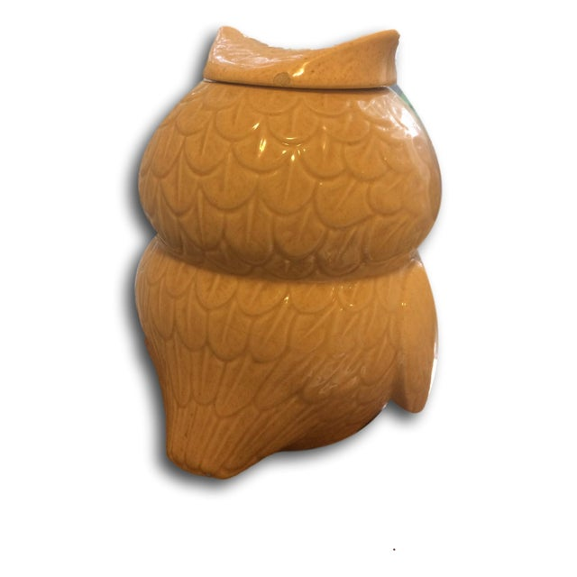 Image of Vintage McCoy Woodsy Owl Cookie Jar