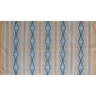 Navajo Style Geometric Wool Rug - 3' X 6'