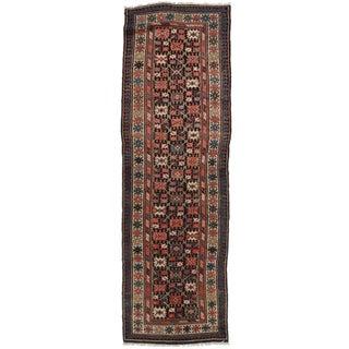 """Antique Russian Wool Runner - 3'5"""" x 11'2"""""""