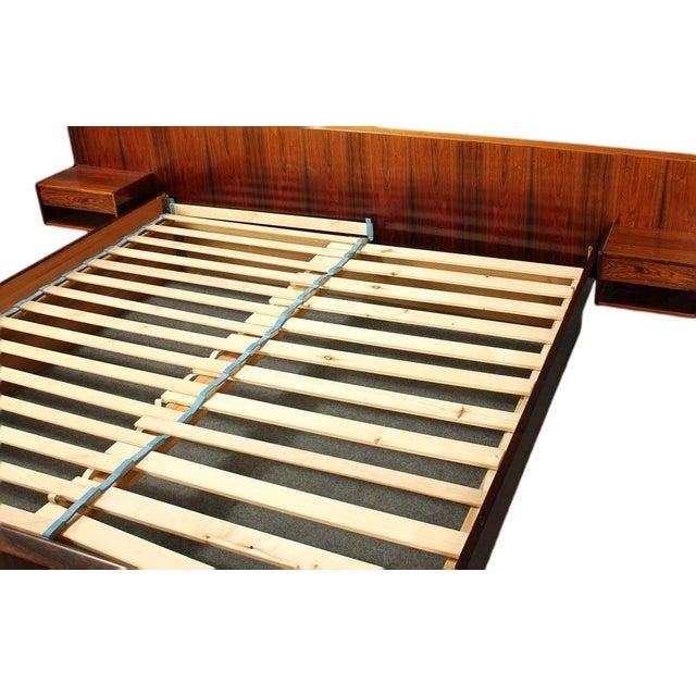 Sannemann Danish Rosewood Platform Bed - Image 4 of 6