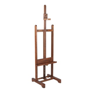 French Art Easel by LeFranc, Paris 1900s