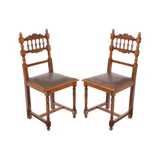 Renaissance Style Chairs - A Pair