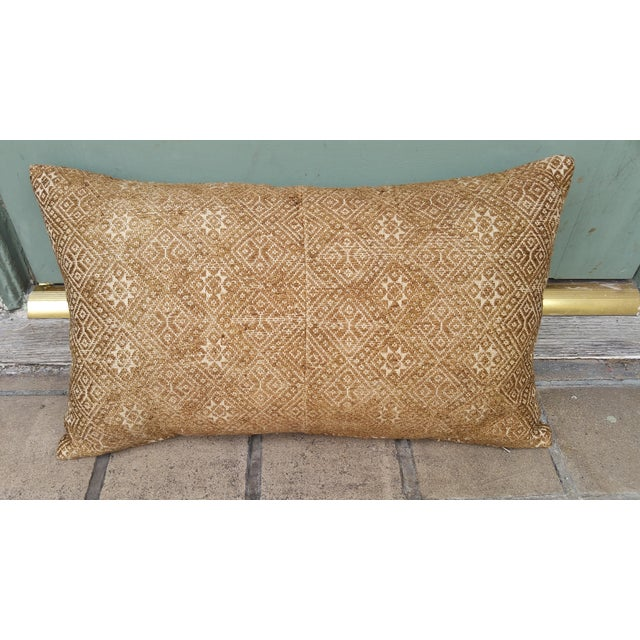 Embroidered Silk Wedding Quilt Pillow - Image 2 of 5