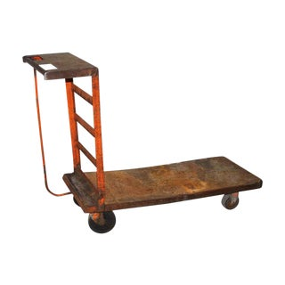 Antique Industrial Factory Cart