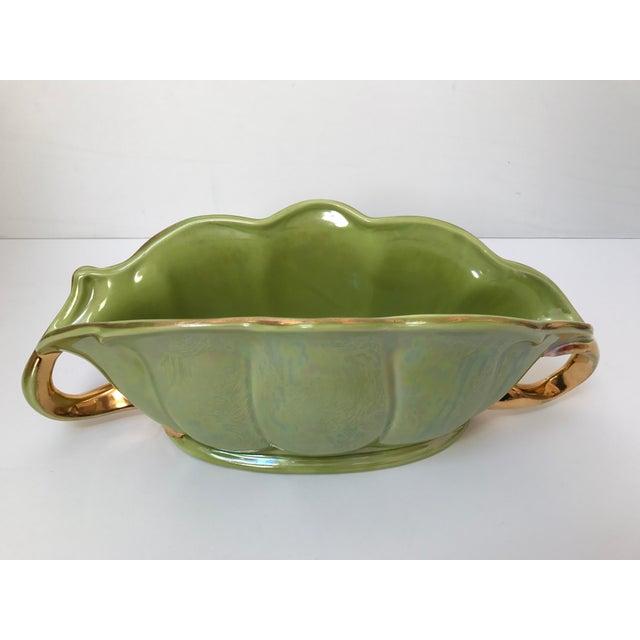 Chartreuse Green Flower Vase - Image 4 of 9