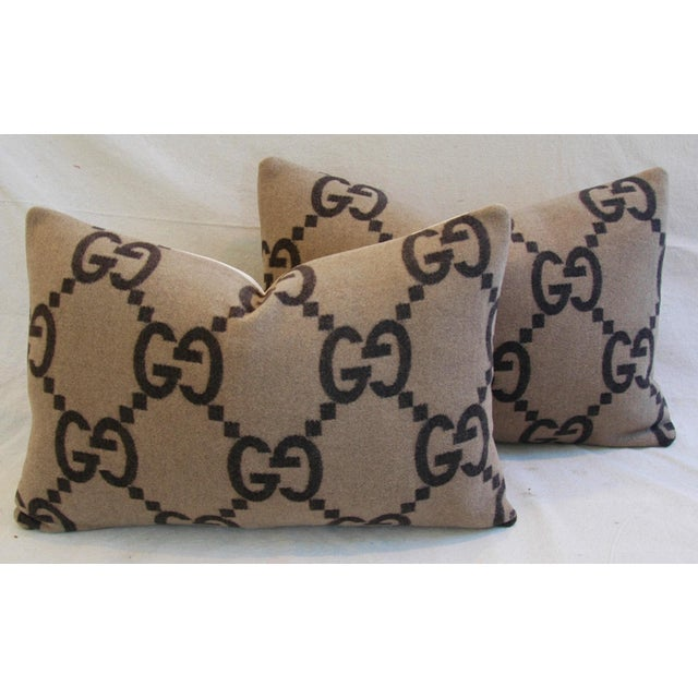 Gucci Cashmere & Velvet Pillows - a Pair - Image 2 of 10