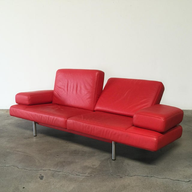 De Sede Ds-460 Multifunctional Sofa Red - Image 5 of 11