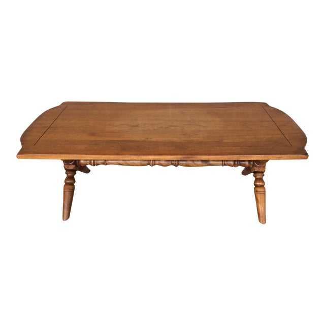 Cushman Colonial Maple Coffee Table Chairish