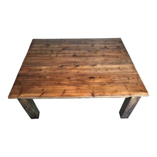 Handcrafted Rustic Farmhouse Coffee Table
