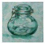 Image of Small Acrylic Painting - Hinged Jar III