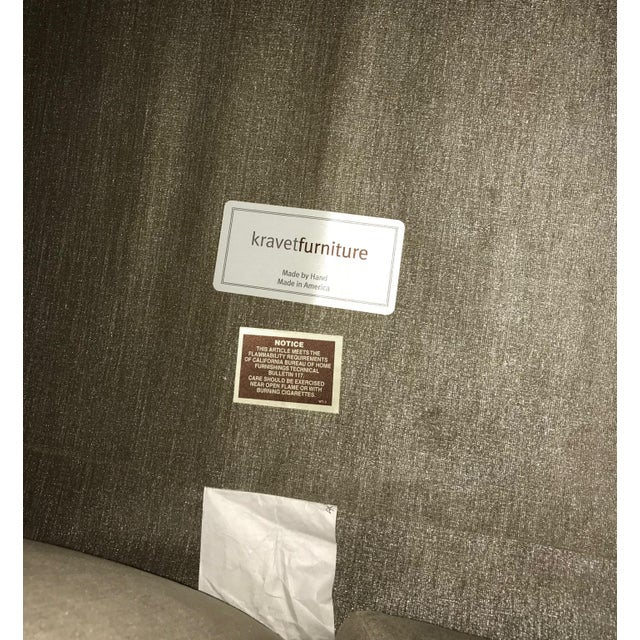 Silver Kravet Custom Sofa - Image 5 of 5