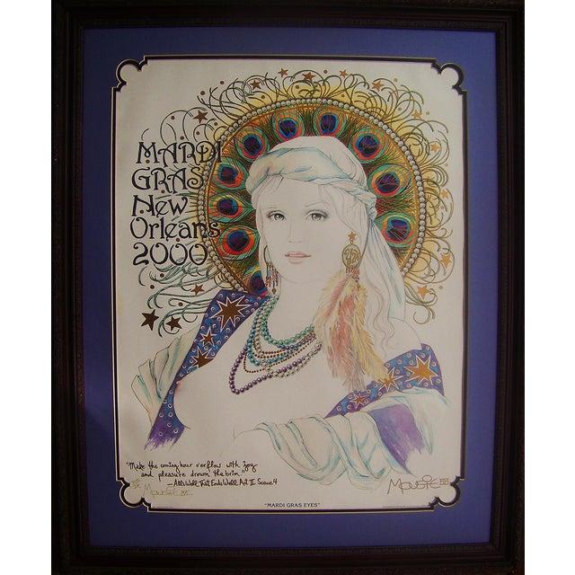 Mousie 'Mardi Gras Eyes' Poster - Image 1 of 6