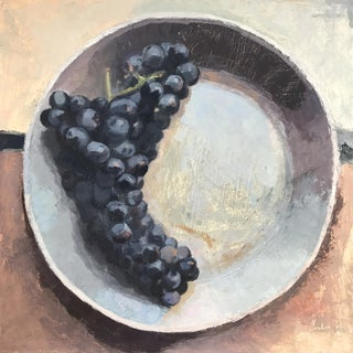 Concord Grapes Original Oil Painting