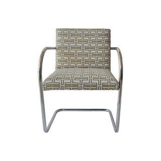 Chrome Milo Baughman-Style Chair
