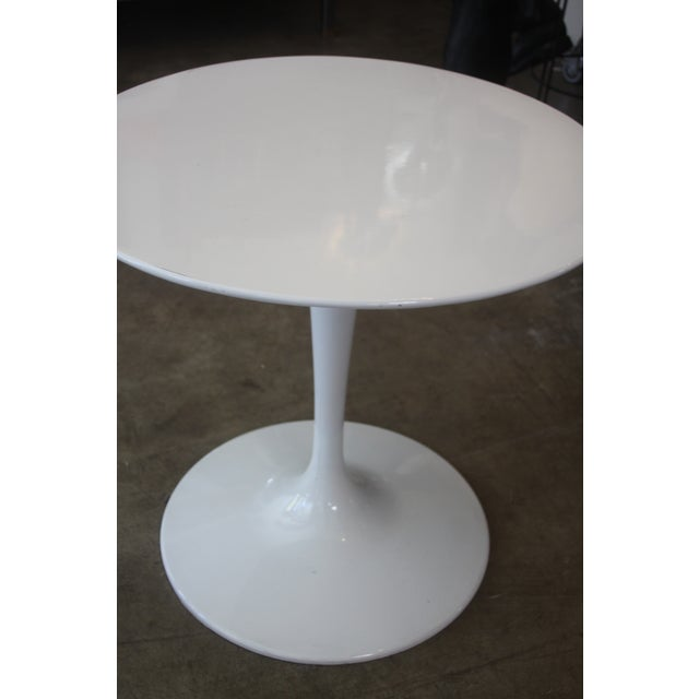 Image of Eames Style White Tulip Table