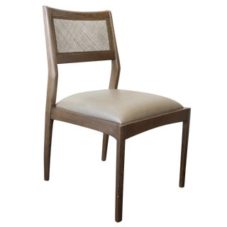 McGuire Fino Side Chair in Gray & Dove