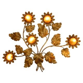 Palladio Sunflower Wall Light Fixture