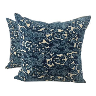 "Ralph Lauren Floral ""Augustine"" Pillows- A Pair"