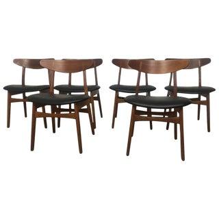 Hans Wegner Dining Chairs - Set of 6