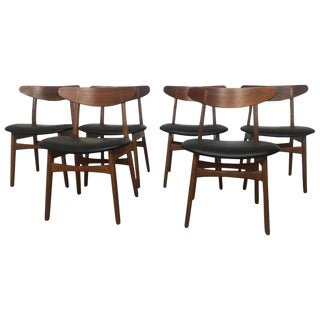 Hans Wegner Dining Chairs - Set of 6