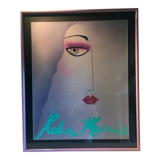 Robin Morris Glamour Puss Framed Poster