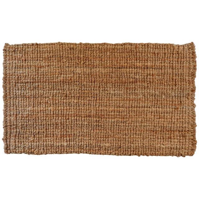 Natural Woven Jute Rug - 2′11″ × 5′ - Image 1 of 3