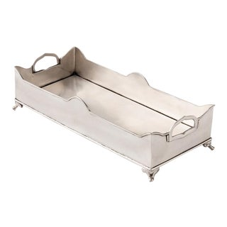 Chester Footed Tray with Handles