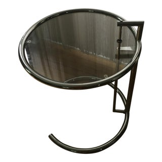 Eileen Gray Chrome Table