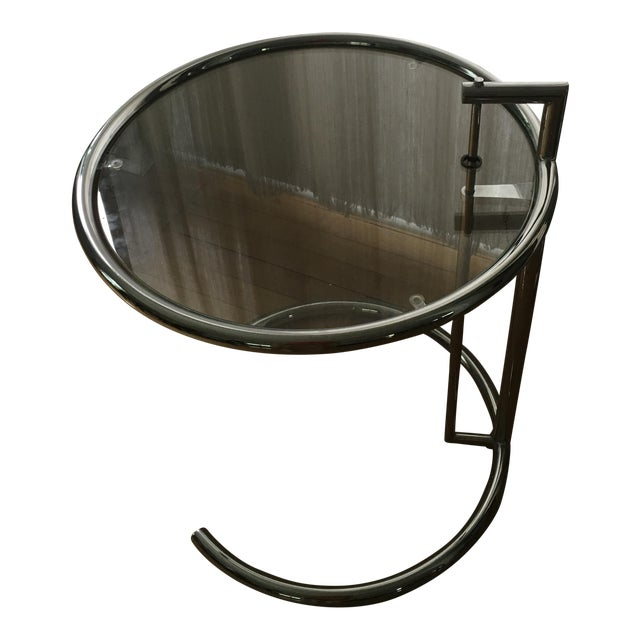 Eileen Gray Chrome Table - Image 1 of 3