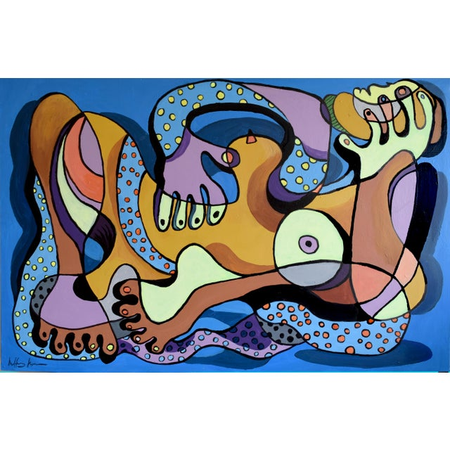 Nude With a Scarf Painting - Image 1 of 6