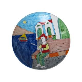 La Musa Italian Painted Pottery Bowl