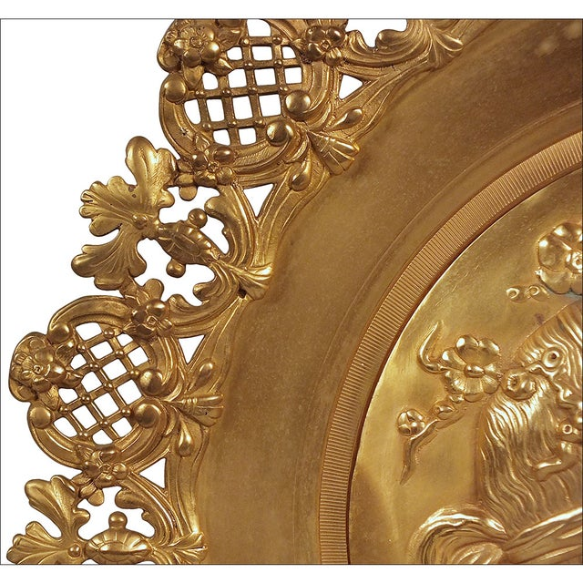 Image of French 19th Century Empire Style Wall Plaque