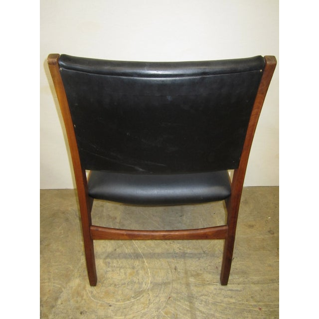 Jens Risom Mid Century Side Arm Chair Pair - Image 8 of 9