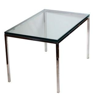 Mid-century Brueton Stainless Steel Side Table